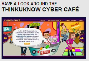 Link to look around the cybercafe